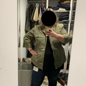 NWOT:  PlusSize Rafaella Fitted Jacket- 3X